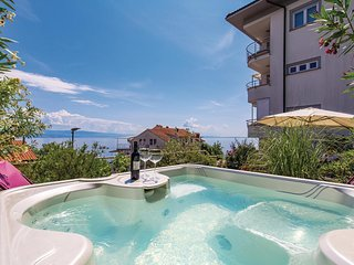 Nice home in Opatija w/ Jacuzzi, WiFi and 3 Bedrooms (CKO332)