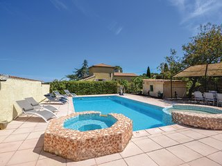 Amazing home in Bourg Saint Andeol w/ Outdoor swimming pool, WiFi and 5 Bedrooms