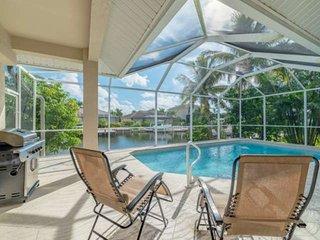 Spacious & Elegant Waterfront Home ~Heated Pool -Screened Lanai -Short Drive to