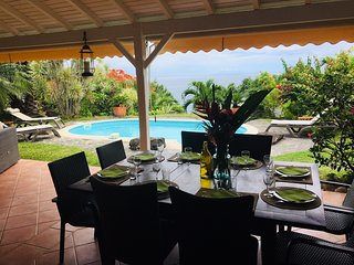 Villa Jasmine, tres large vue mer, sans vis a vis
