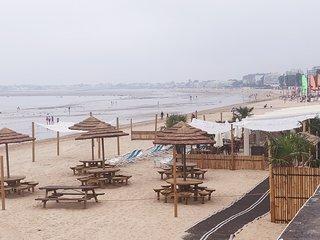 LA BAULE A PIED, plage, restaurants, commerces, marche, gare, spa en ete