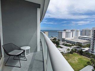 Modern Luxury Beachfront Hotel 1 Bedroom Corner with Views + 2 Balconies 10