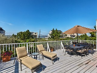 NEW! Westhampton Beach Home w/ Deck + Ocean Views!