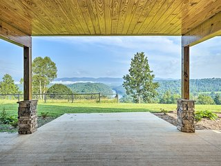 Norris Lake Home w/View & Hiking on 140 Acres