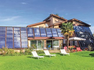Stunning home in St Etienne de St Geoi. w/ Indoor swimming pool, Sauna and 6 Bed