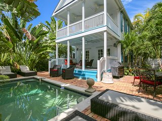 Dog-friendly home w/ private pool & space to lounge - walk to everything!