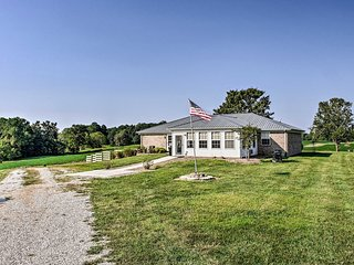 NEW! 'My Ole' KY Farm'-130-Acre Scottsville Home!