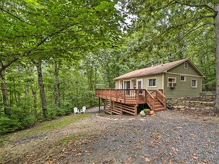 Secluded Luray Cabin w/ BBQ, 11mi to Caverns!
