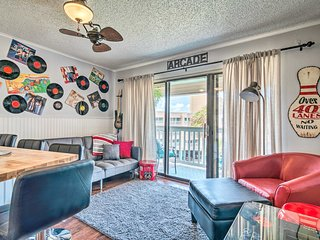 NEW! Beachfront Corpus Christi Condo w/ Arcade Room!