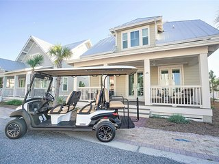 Prominence on 30A ✺ Casita Del Mar ✺ Sleeps 10 - Free Golf Cart During Stay!