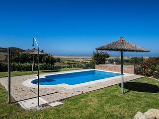 Sea view, 9 bed villa, pool, garden, private and tranquil
