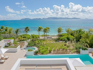 Villa Arushi | Beach Front - Located in Magnificent Rendezvous Bay with Priva