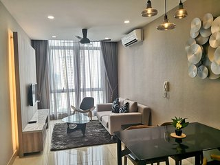 Petaling Jaya Holiday Home Sleeps 3 with Pool and Air Con - 5813563