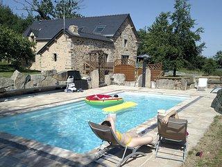 Gite avec piscine entre Redon et la Roche Bernard