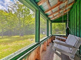 NEW! Private Granby Cabin - 14 Miles to Burke Mtn!