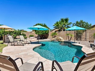 NEW! San Tan Valley Resort Home w/ Backyard Oasis!