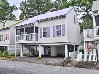 Bethany Beach Cottage w/Porch, 400 Yards to Beach!