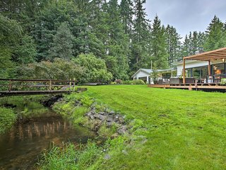 NEW! Beautiful Gig Harbor Home on 5 Acres w/Creek