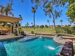 Home w/Pool + Golf Course View, 2.5Mi to Coachella