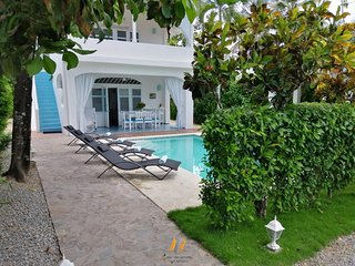 Yucca 1 - Charming Dominican house - 80M from Popy Beach - Pool - Free WIFI