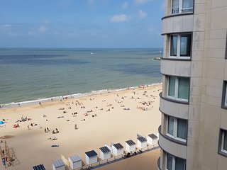 Sleep In Ostend - Studio vue laterale sur mer