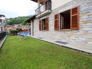 Classic Italian home w/ terrace, garden, and lake/mountain views