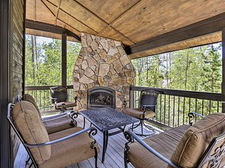 'The Bells' w/ Game Room, Deck & Fireplaces!