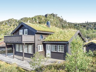 Beautiful home in Åseral w/ WiFi and 5 Bedrooms