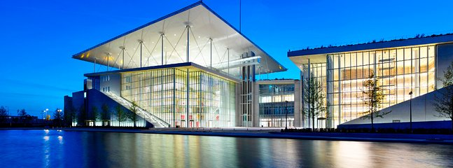 Stavros Niarchos Cultural Center. 10min walk from Seaside Sunset