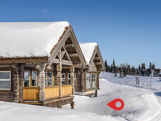 Amazing home in Sjusjoen w/ 1 Bedrooms and WiFi (N31962)