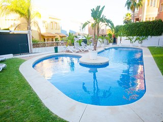 CASA GUADALMINA- House 3 bedrooms first line golf and close to the beach