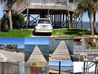 Private fishing piers w/ lights, Pet Friendly,