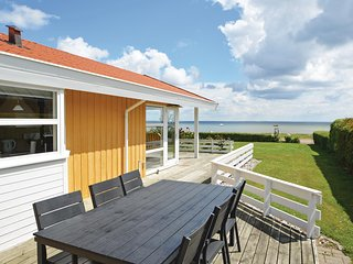Beautiful home in Bjert w/ Sauna, WiFi and 3 Bedrooms
