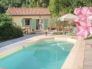 Beautiful home in Les Salles du Gardon w/ WiFi and 2 Bedrooms