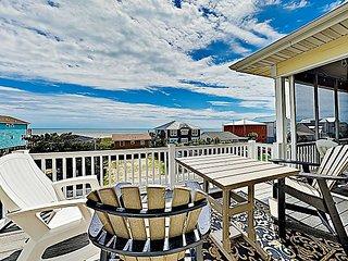 New Listing! Sunny & Spacious Beach Home w/ Tiki Room & Ocean Views