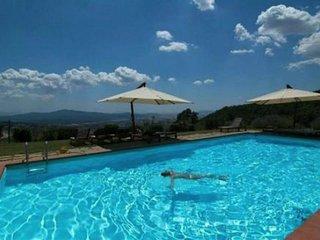 Vive ' La esencia de La Toscana ' ( villa tipica toscana para 12/18 personas)