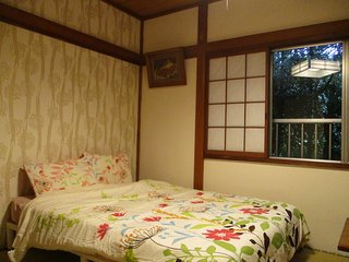HAKONE Tatami Room for 3  people 1 mit Venetian Glass Museum Bus Stop Guesthouse
