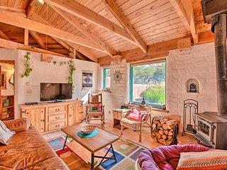 NEW! Eclectic Adobe Crestone Cottage w/Patio+Yard!