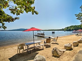 NEW! Center Ossipee Pet-Friendly Cottage w/ Dock!