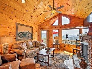NEW! Blue Ridge Area Cabin w/ Hot Tub & Game Room!
