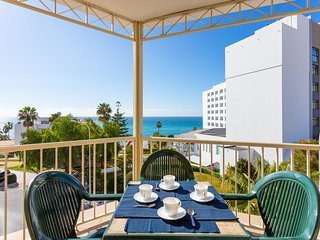 Great location in the heart of Nerja - shared pool, ocean views & more!