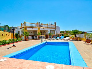 Villa in hills near Nerja w/ private pool, ocean views, and peaceful location!