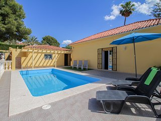 Modern dog-friendly home with lovely views, private pool, convenient location!