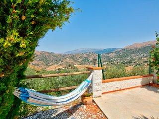 Beautiful rural villa with private pool, patio area, hammocks, views