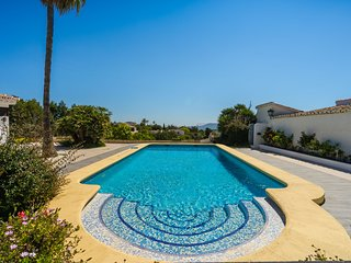 Lovely villa features a private pool, BBQ, pool table, free WiFi, & terrace!