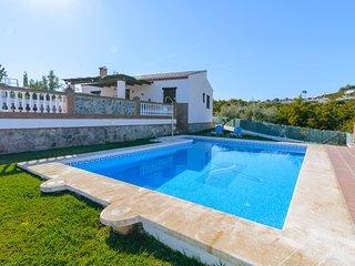 Frigiliana villa w/private pool, mountain views and Free WiFi!