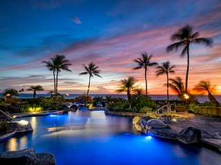 Hali'i Kai'Wish-We-Were-Here'! Oceanfront & Golf resort. Gear & Bike