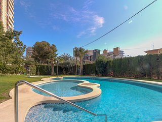 Oceanfront, dog-friendly apartment with shared pool, quick walk from the beach