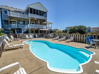 Four Sea Sons   497 ft from the beach   Private Pool, Hot Tub   Corolla