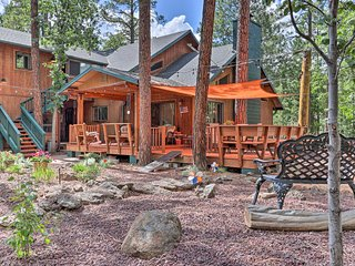 NEW-Pinetop Apt w/Fire Pit Near Sunrise Pk Resort